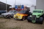 drei Autos airbrush paint shop fritz schrötter