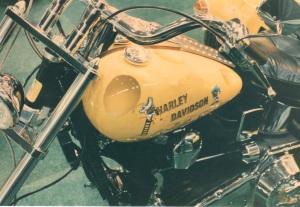 Harley4 gelb airbrush regensburg schrötter